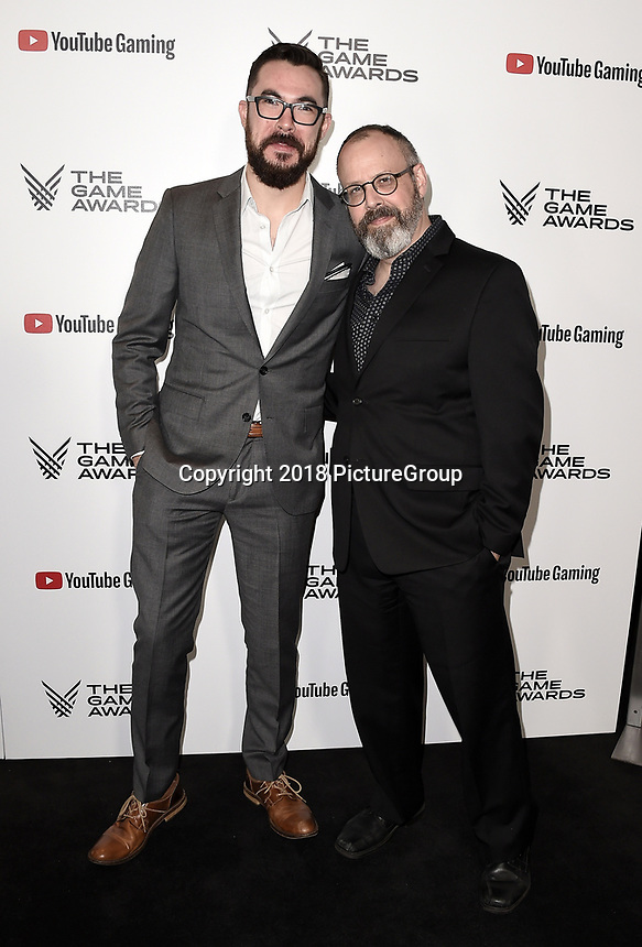 LOS ANGELES - DECEMBER 6: (LR) Mike McCain and Mitch Gitelman attend the 2018 Game Awards at the Microsoft Theater on December 6, 2018 in Los Angeles, California. (Photo by Scott Kirkland/PictureGroup)