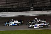 #51: Christian Eckes, Kyle Busch Motorsports, Toyota Tundra SiriusXM, #18: Harrison Burton, Kyle Busch Motorsports, Toyota Tundra Safelite AutoGlass, #4: Todd Gilliland, Kyle Busch Motorsports, Toyota Tundra Mobil 1