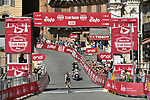 World Champion Annemiek van Vleuten (NED) Mitchelton-Scott wins the 2020 Strade Bianche Elite Women running 136km from Fortezza Medicea Siena to Piazza del Campo Siena, Italy. 1st August 2020.<br /> Picture: LaPresse/Gian Mattia D'Alberto | Cyclefile<br /> <br /> All photos usage must carry mandatory copyright credit (© Cyclefile | LaPresse/Gian Mattia D'Alberto)