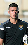 St Johnstone FC….Season 2019-20 <br />Ross Sinclair<br />Picture by Graeme Hart. <br />Copyright Perthshire Picture Agency<br />Tel: 01738 623350  Mobile: 07990 594431