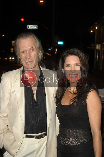 David Carradine and Annie Bierman