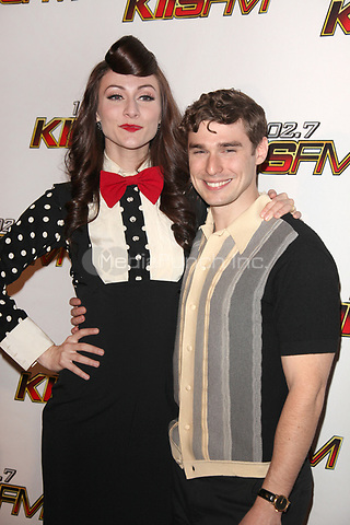 Amy Heidemann and Nick Noonan at 102.7 KIIS FM's Jingle Ball at the Nokia Theatre L.A. Live on December 3, 2011 in Los Angeles, California. © mpi21 / MediaPunch Inc.