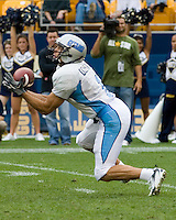 23 September 2006: The Citadel wide receiver Gary Domanski..The Pitt Panthers beat The Citadel Bulldogs 51-6 on September 23, 2006 at Heinz Field, Pittsburgh, Pennsylvania.