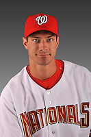 14 March 2008: ..Portrait of Steve Doetsch, Washington Nationals Minor League player at Spring Training Camp 2008..Mandatory Photo Credit: Ed Wolfstein Photo