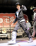 Justin Bieber performs a free holiday concert at Citadel Outlets in Los Angeles, California on December 14,2009                                                                   Copyright 2009 DVS / RockinExposures