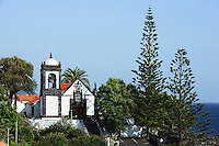 Igreja Santa Barbara in Manadas auf der Insel Sao Jorge, Azoren, Portugal