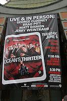 Atmosphere.Handprint & Footprint Ceremony For Ocean's Thirteen's.George Clooney, Brad Pitt, Matt Damon, and Jerry Weintraub.Gruman's Chinese Theater.Los Angeles, CA.June 5, 2007.©2007 Kathy Hutchins / Hutchins Photo....