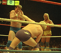Roddy Piper Harley Race Hulk Hogan 1996<br /> Photo By John Barrett/PHOTOlink