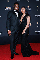 MIAMI, FL - FEBRUARY 1: Devon Kennard and Camille Firestone attend the 2020 NFL Honors at the Ziff Ballet Opera House during Super Bowl LIV week on February 1, 2020 in Miami, Florida. (Photo by Anthony Behar/Fox Sports/PictureGroup)