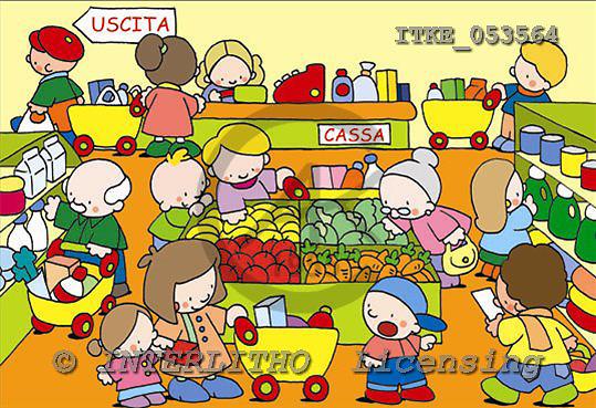 Isabella, CUTE ANIMALS, children, paintings,+children,++++,ITKE053564,#AC# Kinder, niños, illustrations, pinturas ,everyday