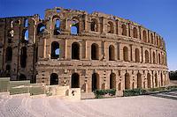 Amfitheater in El Jem, Tunesi'