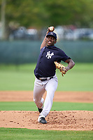 New York Yankees pitcher Tyrone Yulie (68) during an Extended Spring Training game against the Philadelphia Phillies on June 22, 2021 at the Carpenter Complex in Clearwater, Florida. (Mike Janes/Four Seam Images)
