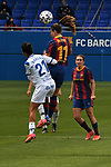 Liga IBERDROLA. Game 16.<br /> FC Barcelona vs UDG Tenerife Egatesa: 6-1.<br /> Silvia Doblado vs Alexia Putellas.
