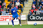 St Johnstone v Man Utd XI....31.07.10  Alan Main Testimonial.Saints new signing Marcus Hamer scores to make it 2-1 .Picture by Graeme Hart..Copyright Perthshire Picture Agency.Tel: 01738 623350  Mobile: 07990 594431