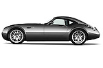 Driver side profile view of a 2009 - 2014 Wiesmann MF4 GT 2 Door Coupe.