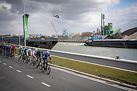 racing along the canal<br /> <br /> 109th Scheldeprijs 2021 (ME/1.Pro)<br /> 1 day race from Terneuzen (NED) to Schoten (BEL): 194km<br /> <br /> ©kramon