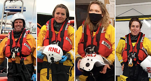 Lough Derg RNLI lifeboat station has welcomed Stephen Seymour, Ania Skrzypczynska, Ciara Moylen and Richard Nolan as new volunteers to the crew panel