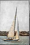 Sailboats sailboat boating sailing backlit sails boats sailboat newport harbor california coast day daylight. Photo by Alan Mahood.