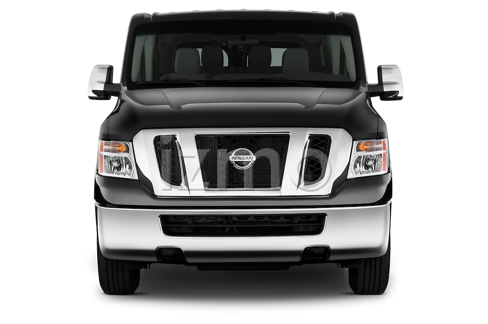 Front three quarter view of a 2013 Nissan NV 3500 Passenger LS V82013 Nissan NV 3500 Passenger LS V8