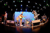The Incurables in concert during Javier Mendoza's CD release at COCA Founder's Theatre in St. Louis, MO on Nov 14, 2009.