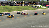 #11: Denny Hamlin, Joe Gibbs Racing, Toyota Camry, #20: Erik Jones, Joe Gibbs Racing, Toyota Camry, #66: Timmy Hill, Motorsports Business Management, Toyota Camry<br /> <br /> (MEDIA: EDITORIAL USE ONLY) (This image is from the iRacing computer game)