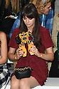 Lilah Parsons at the Fyodor Golan fashion show for London Fashion Week SS16, Soho, London<br /> <br /> ©Ash Knotek  D3013  18/09/2015