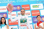 Luis Mas Bonet (ESP) Caja Rural SGA Seguros retains the Turkish Beauties Sprint Jersey at the end of Stage 3 of the 2015 Presidential Tour of Turkey running 165.3km from Kemer to Elmali. 28th April 2015.<br /> Photo: Tour of Turkey/Mario Stiehl/www.newsfile.ie