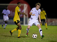 Jack McBean. The United States played Jamaica during the CONCACAF Men's Under 17 Championship at Catherine Hall Stadium in Montego Bay, Jamaica.