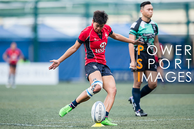 Poon Ka Yan of Lions in action during the Women's National Super Series 2017 on 13 May 2017, in Hong Kong Football Club, Hong Kong, China. Photo by Marcio Rodrigo Machado / Power Sport Images