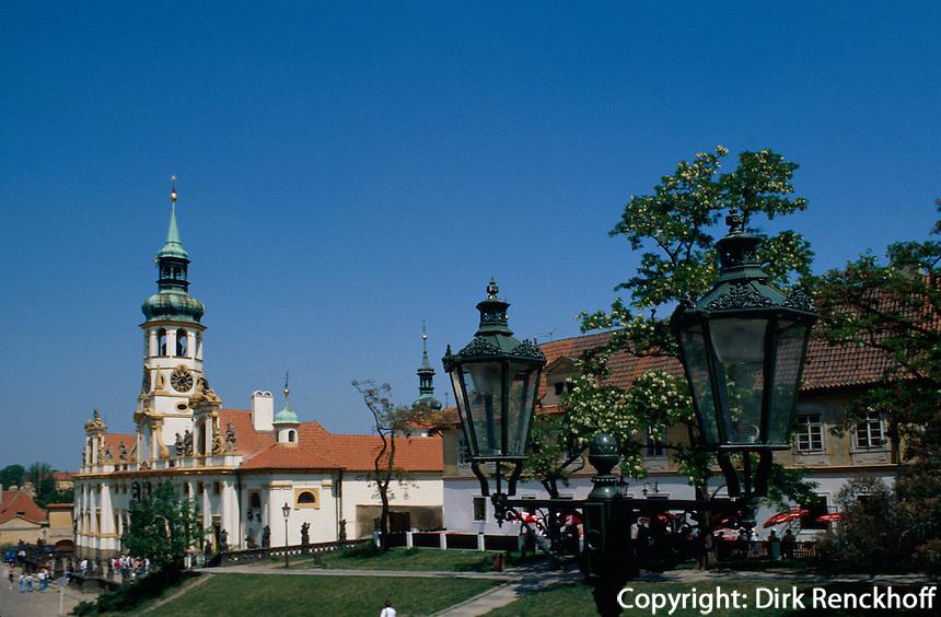 Tschechien, Prag, Loretto-Kirche, Unesco-Weltkulturerbe