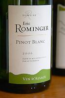pinot blanc domaine e rominger westhalten alsace france