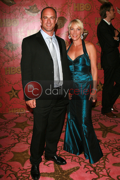Christopher Meloni and wife Sherman<br />at the 2006 HBO Emmy After Party. Pacific Design Center, West Hollywood, CA. 08-27-06<br />Dave Edwards/DailyCeleb.com 818-249-4998