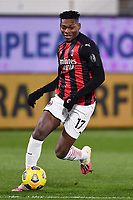 Rafael Leao of AC Milan in action during the Serie A football match between Spezia Calcio and AC Milan at Spezia stadium in Spezia (Italy), February 13th, 2021. Photo Image Sport / Insidefoto