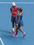Donald Young and Taylor Townsend (both USA) lose in the mixed doubles semi-finals 6-3, 6-4 at the US Open being played at USTA Billie Jean King National Tennis Center in Flushing, NY on September 3, 2014