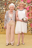 """June Whitfield<br /> arrives for the World Premiere of """"Absolutely Fabulous: The Movie"""" at the Odeon Leicester Square, London.<br /> <br /> <br /> ©Ash Knotek  D3137  29/06/2016"""