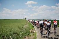 André Greipel (DEU/Lotto-Belisol) in the back<br /> <br /> 2014 Belgium Tour<br /> stage 4: Lacs de l'Eau d'Heure - Lacs de l'Eau d'Heure (178km)