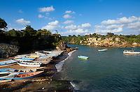 Dominikanische Republik, Boote in Boca de Yuma bei Bayahibe
