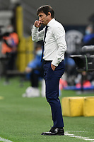 Antonio Conte coach of FC Internazionale reacts during the Serie A football match between FC Internazionale and AC Milan at stadio San Siro in Milano (Italy), October 17th, 2020. Photo Image Sport / Insidefoto