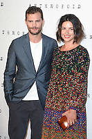 "Jamie Dornan and wife, Amelia Warner<br /> arrives for the ""Anthropoid"" premiere at the BFI Southbank , London.<br /> <br /> <br /> ©Ash Knotek  D3147  30/08/2016"