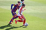 Liga IBERDROLA 2020-2021. Jornada: 10<br /> FC Barcelona vs Santa Teresa: 9-0.<br /> Vicky Losada vs Belen Martinez.