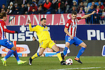 UD Las Palmas Momo Figueroa, Atletico de Madrid's Lucas Hernandez  during the match of Copa del Rey between Atletico de Madrid and Las Palmas, at Vicente Calderon Stadium,  Madrid, Spain. January 10, 2017. (ALTERPHOTOS/Rodrigo Jimenez)