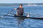 Port Townsend, Rat Island Regatta, David Deschenes, rowers, kayakers, standup paddlers, racing, Sound Rowers, Rat Island Rowing Club, Puget Sound, Olympic Peninsula, Washington State, water sports, rowing, kayaking, competition,