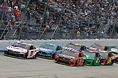 #11: Denny Hamlin, Joe Gibbs Racing, Toyota Camry FedEx Express #19: Martin Truex Jr., Joe Gibbs Racing, Toyota Camry Bass Pro Shops