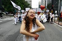 24.05.2019 - Ato de servidores da saúde na av Paulista em SP