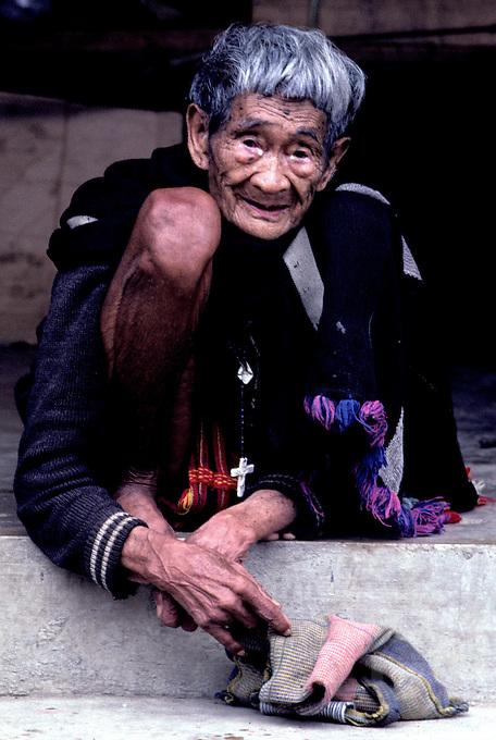 Old women near Banaue Philippines
