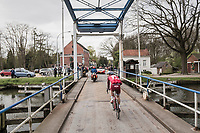 crossing the canal<br /> <br /> 105th Scheldeprijs 2017 (1.HC)<br /> 1 Day Race: Mol › Schoten (BEL/202km)