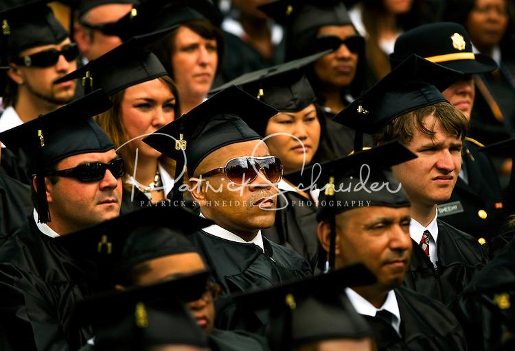 Belmont Abbey College Graduation 2009 in Belmont North Carolina.