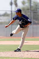 Adys Portillo - San Diego Padres 2009 Instructional League.Photo by:  Bill Mitchell/Four Seam Images..