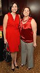 Julie Robertson and Felicia Gann at the American Heart Association Go Red for Women luncheon at the InterContinental Houston Monday May 04,2009.  (Dave Rossman/For the Chronicle)