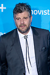 Raul Cimas attends to blue carpet of presentation of new schedule of Movistar+ at Queen Sofia Museum in Madrid, Spain. September 12, 2018. (ALTERPHOTOS/Borja B.Hojas)